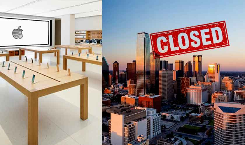 apple closing stores east texas