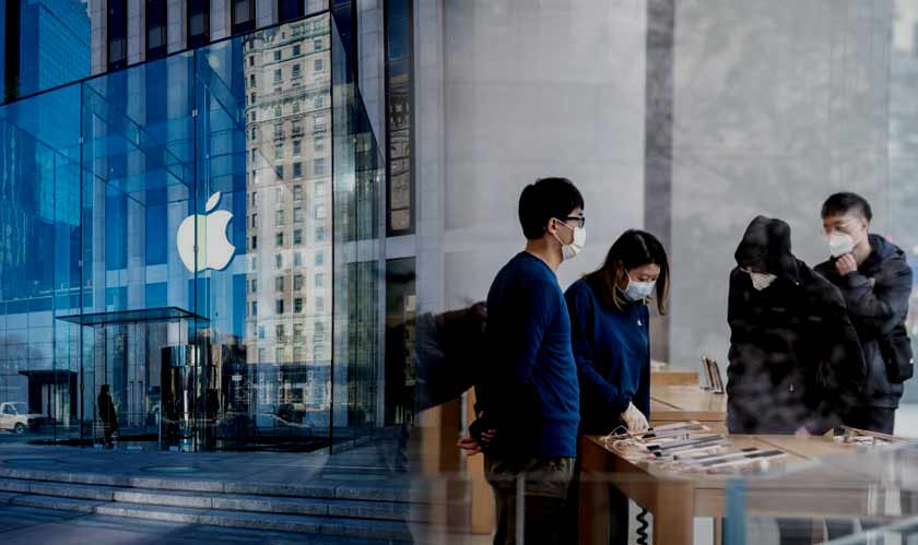 Apple closing all of its stores outside China till March 27