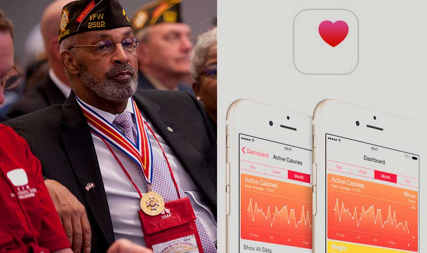 apple gifts veterans health records