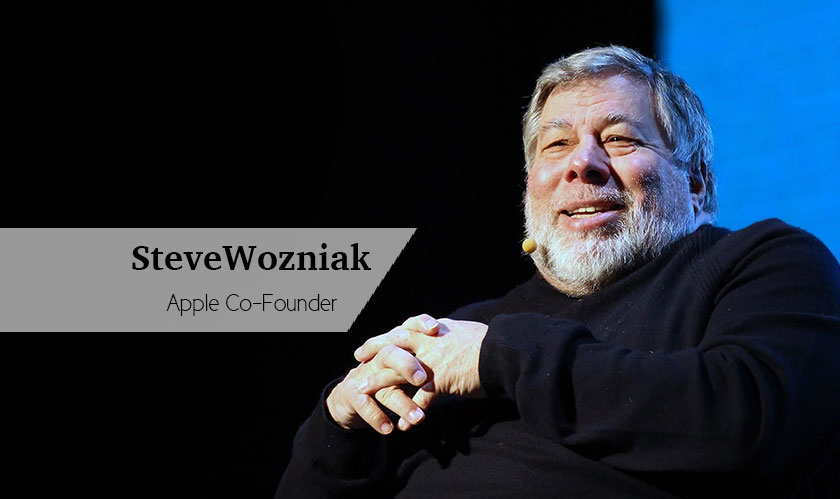 Apple shouldn't be a castle: Steve Wozniak