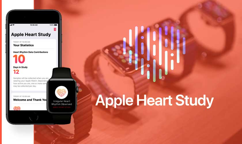 apple heart study by stanford
