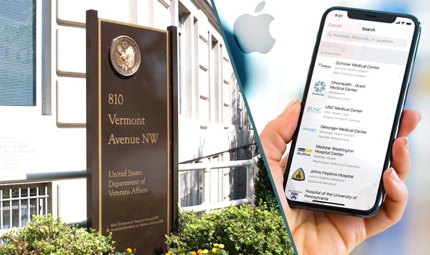 apple helps veteran medical records