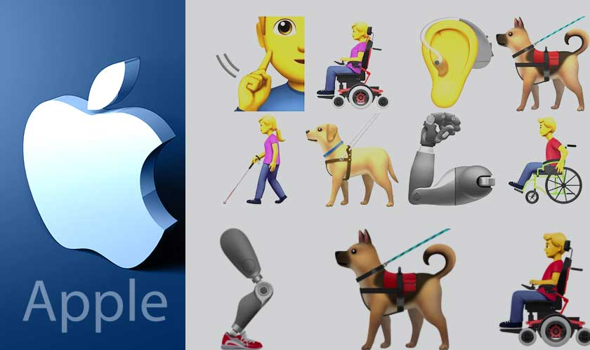Apple Introduces 13 new Emojis Representing Disabled People