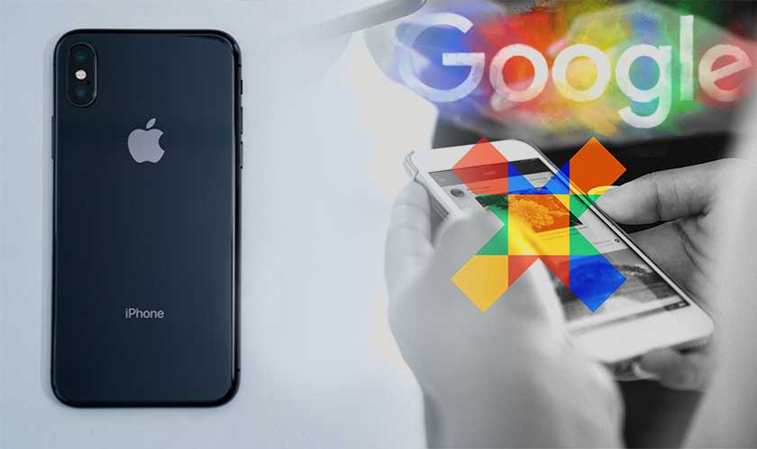 apple ios blocks google