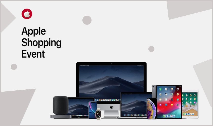 Apple is holding a New Year's shopping event in Japan