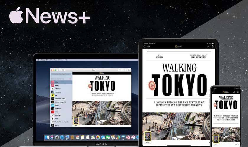 You have more than 300 magazines in Apple News Plus