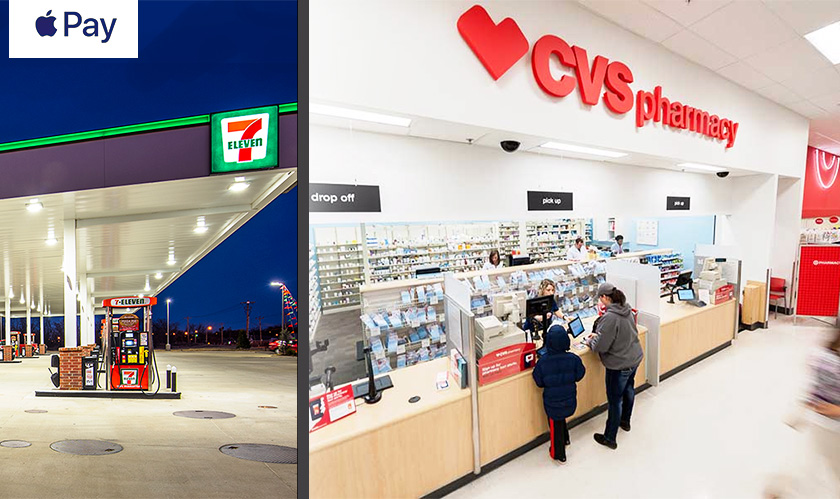 Apple Pay availing itself to 7-eleven and CVS, finally