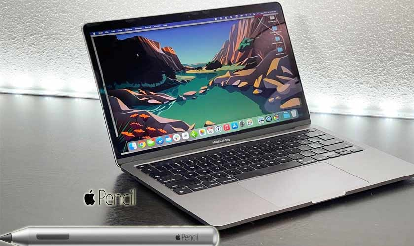 Apple Patent hints MacBooks could come with an Apple Pencil in future