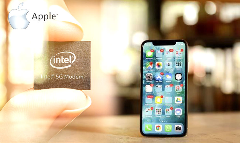 intel 5g chips for apple