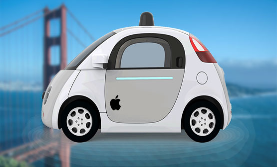 apples autonomous automobile to be rolled out in the street of california a hoax or a docking realism