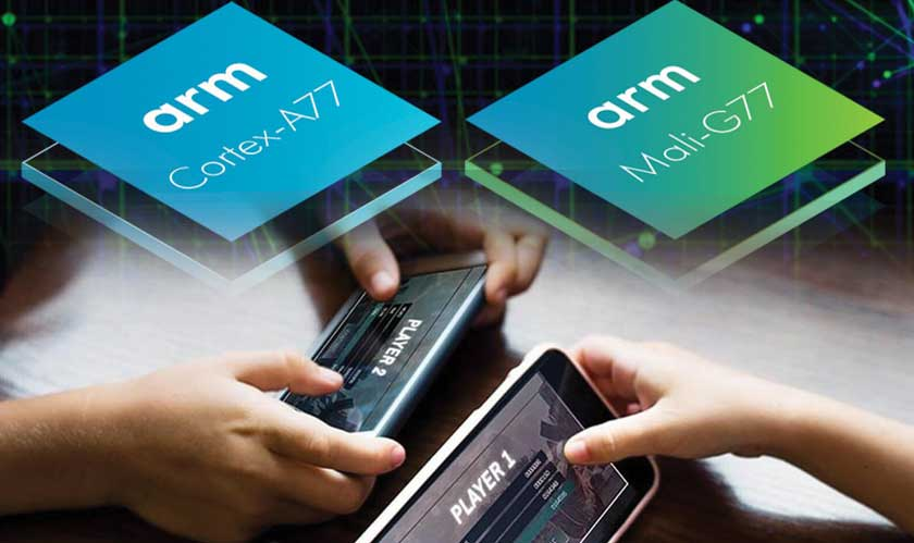 arm announces cortex a77 mali g77