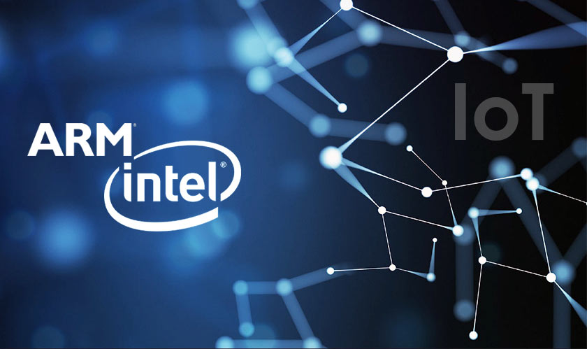 arm intel collaborate for iot