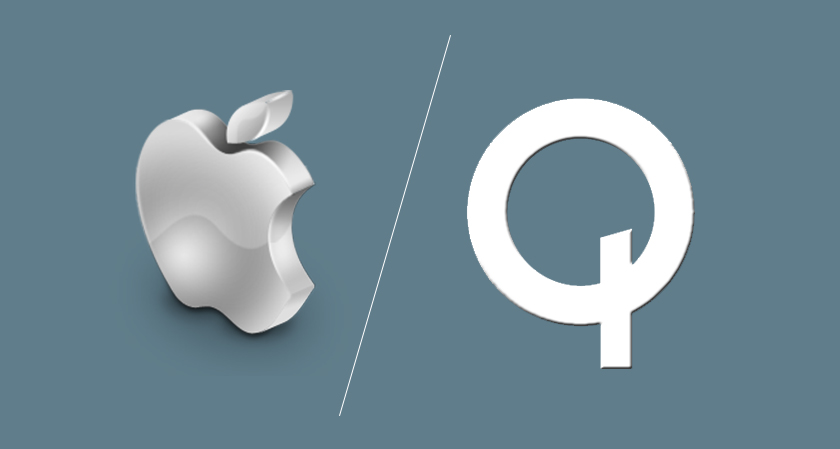 as the tiff gets tougher qualcomm is ready to knock out apple from its home country