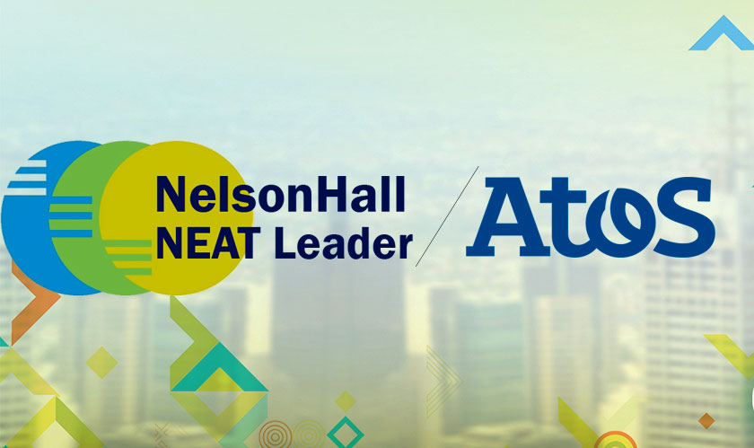 ATOS is a recognized leader in NelsonHall's NEAT vendor evaluation