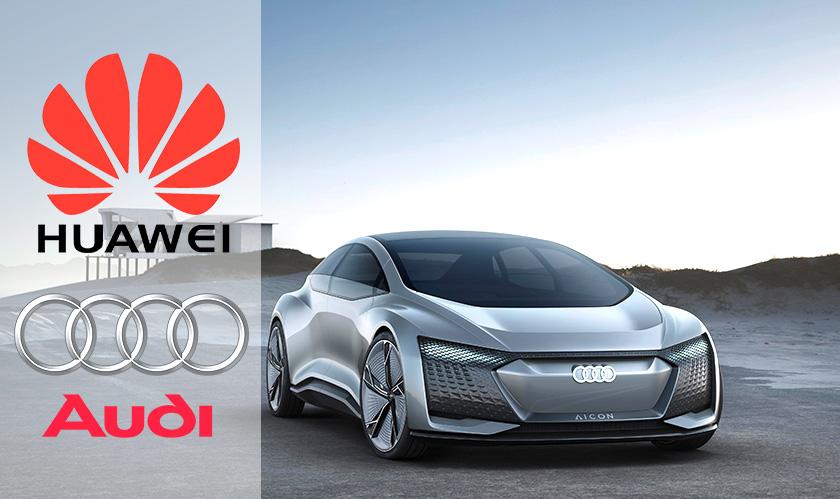 audi huawei build autonomous cars