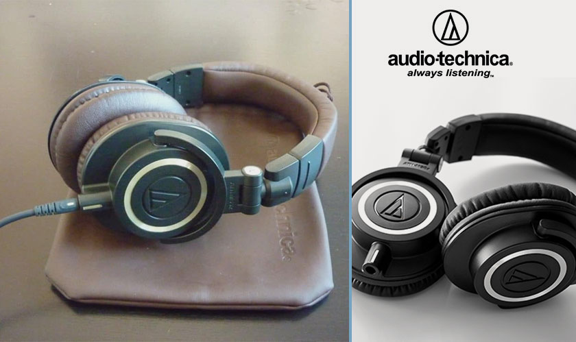 Audio Technica's M50x headphones go wireless