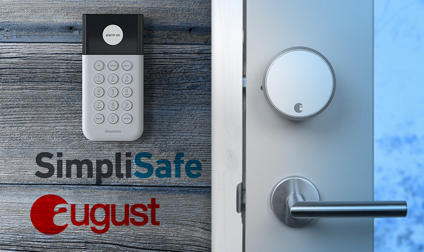 August Smart Locks and SimpliSafe Security Systems to hook up very soon