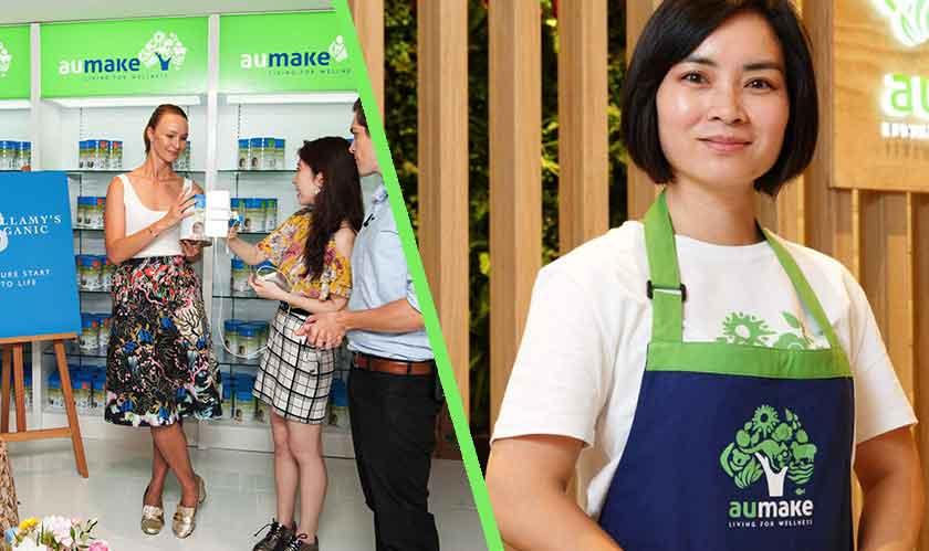 aumake to open three stores