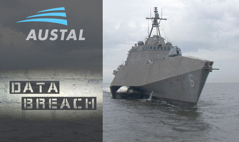 Australian Shipbuilder Austal hit by a data breach