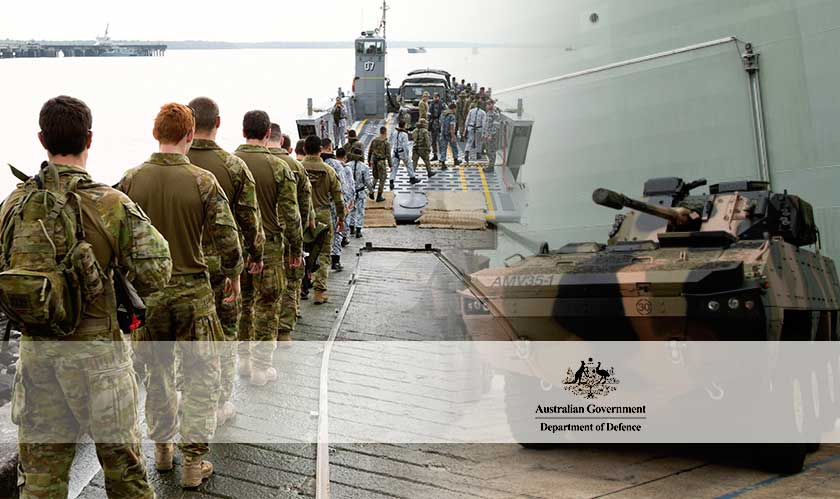Australian Department of Defence gives out three contracts