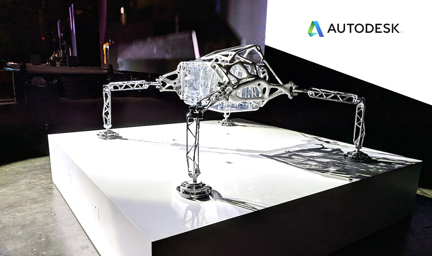 Autodesk's AI software helped NASA design spider-like interplanetary lander