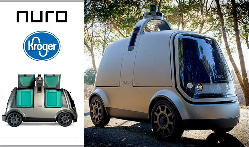 autonomous cars enter kroger