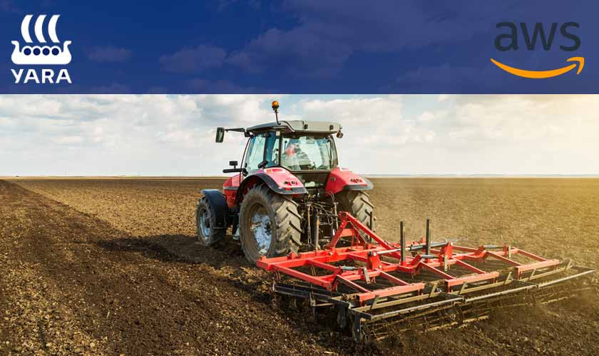 AWS works in alliance with farming solutions provider Yara