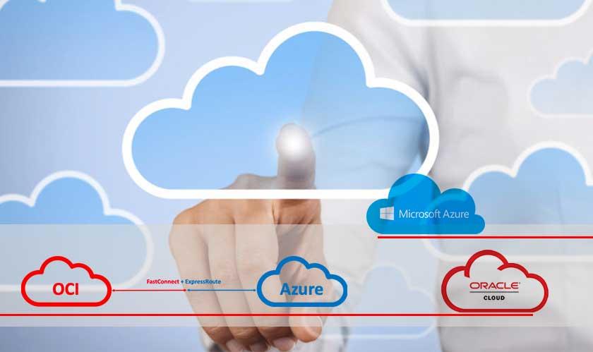azure oracle cloud connect