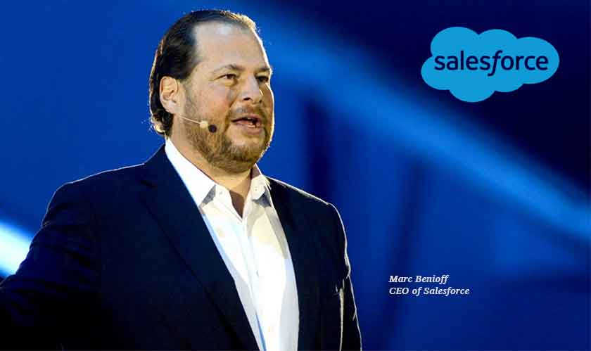 'It's time to transform,' says Marc Benioff