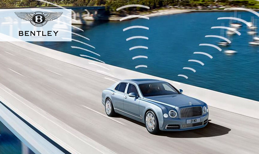 Bentley is introducing world's first in-car Wi-Fi network