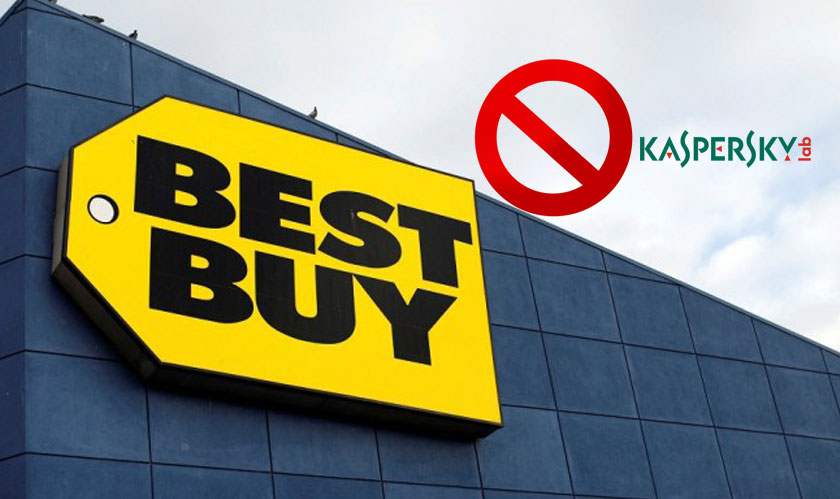 Best Buy pulls the plug on Kaspersky products