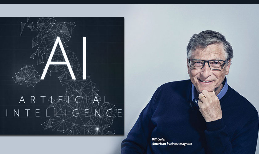 Bill Gates: AI to bring big changes in future business