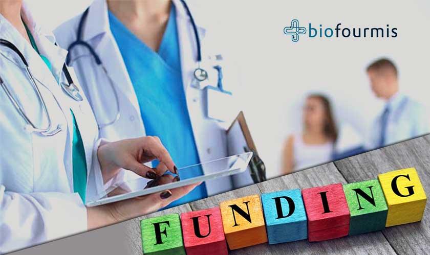 healthcare biofourmis raises   million
