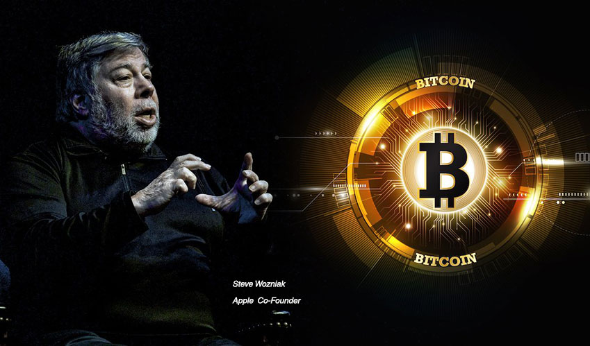 """Only Bitcoin is Pure Digital Gold,"" Steve Wozniak"
