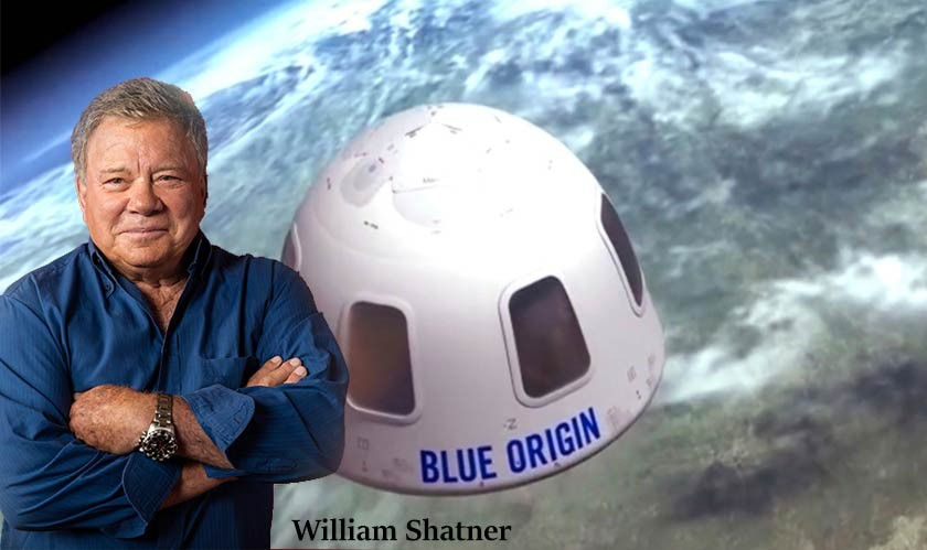 'Star Trek' star William Shatner, 90, to fly to the edge of space with Blue Origin