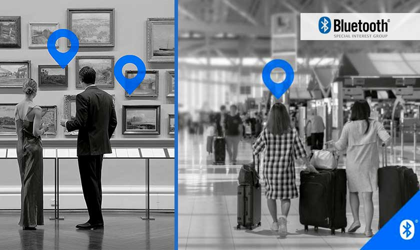 bluetooth location services feature