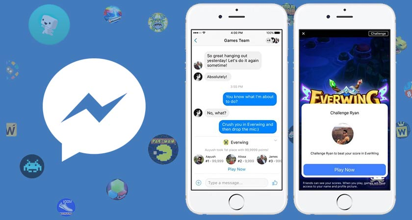 Bored of waiting for a reply in messenger? Have you played Instant Games yet?