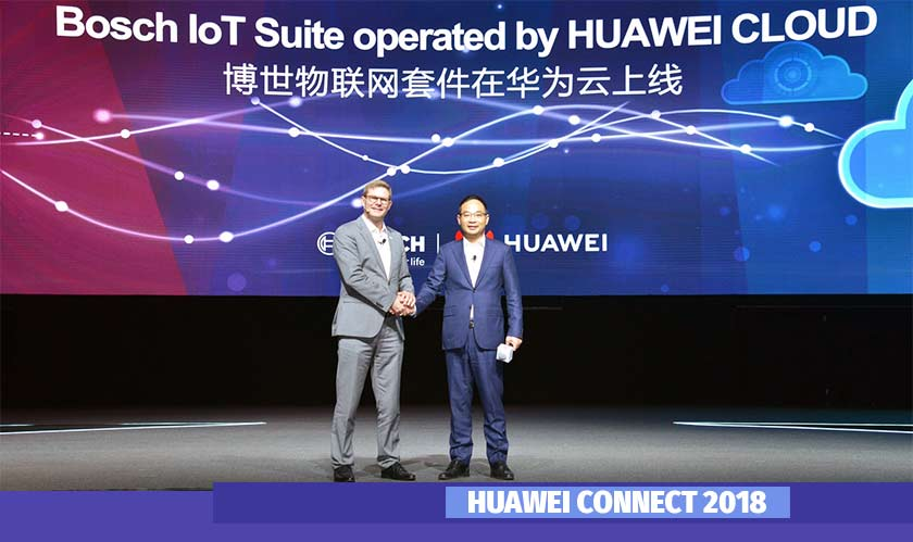 Bosch and Huawei tie up to design an IoT offering