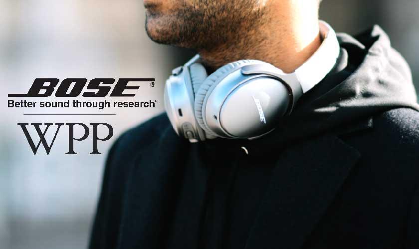 Bose picked WPP as its global agency partner