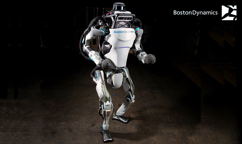 Atlas humanoid robot of Boston Dynamics now does a parkour