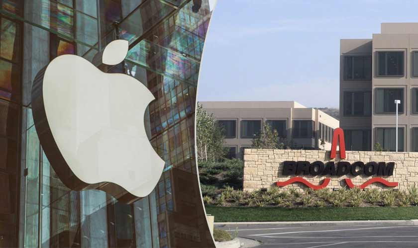 Broadcom is going to supply wireless components to Apple
