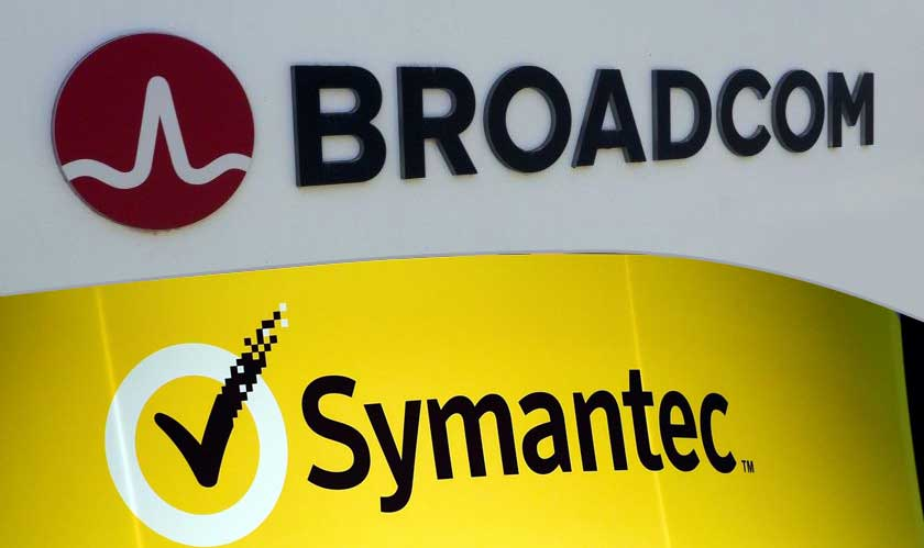 Broadcom to buy Symantec's Enterprise business for 10.7 billion
