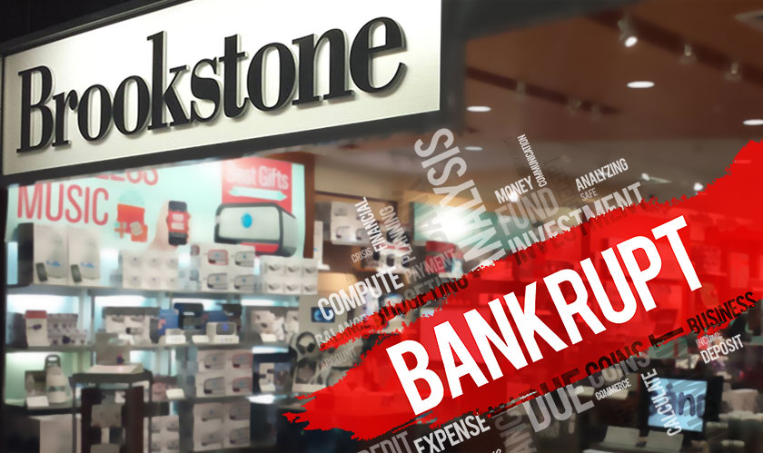 Brookstone filing for bankruptcy for the second time