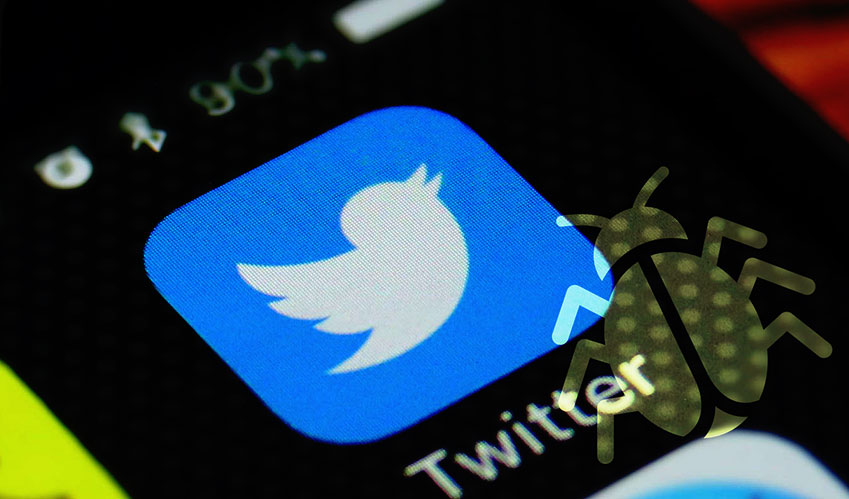 Bugs on Twitter again; change your password now!