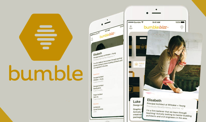bumble launches bumblebizz