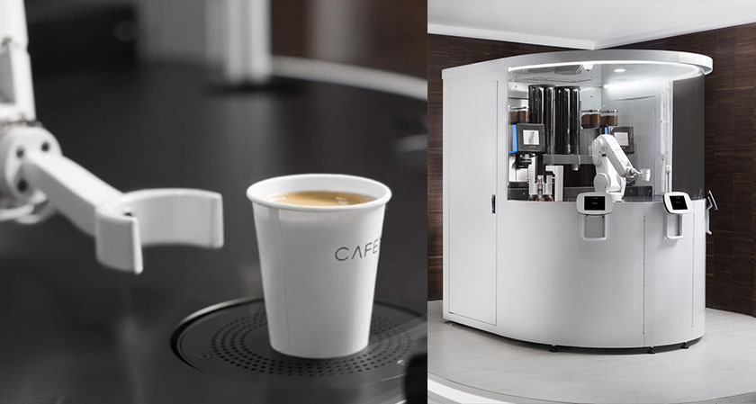 caf x artisanal coffee and automated technology