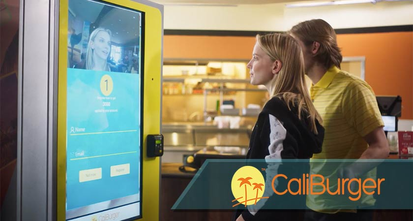 CaliBurger now uses Facial Recognition to place your order