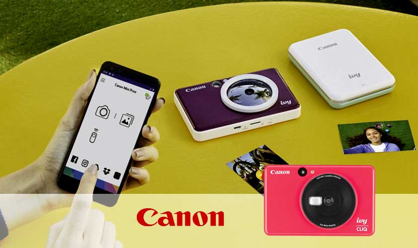 Canon wants a slice of the 'instant camera' big business