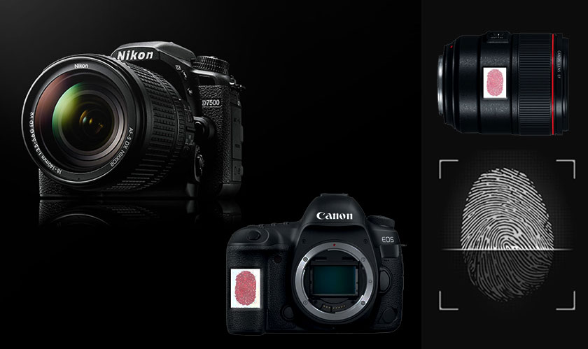 Canon and Nikon to add Fingerprint Sensors to Cameras