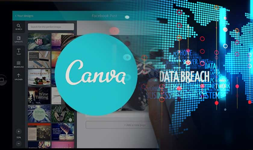 Canva hit with a data breach